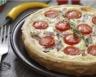 Tarte au thon tomates et fromage blanc