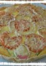 Tarte au tomate courgette et chèvre