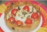 Tarte aubergine et tomates cerises