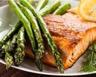 Tarte aux asperges et au saumon