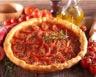 Tarte aux feuilles de brick tomates et chèvre