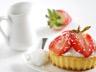 Tarte aux fraises à la noix de coco