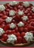 Tarte aux fraises et à la crème d'amandes