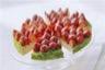 Tarte aux fraises et à la crème de citron vert