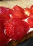 Tarte aux fraises et crème de mascarpone