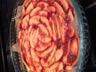 Tarte aux pommes et à la confiture de fraise