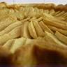 Tarte aux pommes et à la crème pâtissière au carambar