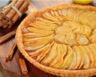 Tarte aux pommes et confiture de figues