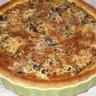 Tarte champignons / pommes de terre