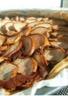 Tarte crème d'amande au chocolat & poires