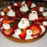 Tarte crémeuse aux fraises facile
