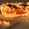 Tarte crumble aux tomates confites oignon et chèvre