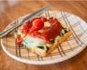 Tarte épinards-chèvre-tomate