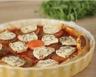 Tarte feuilletée au chèvre tomates et oignon