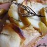 Tarte fine aux pommes beurre salé miel et romarin
