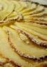 Tarte fine aux pommes et crème d'amandes