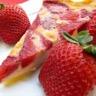 Tarte fraises banane
