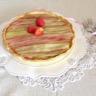 Tarte fraises - rhubarbe
