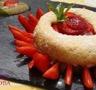Tarte fraises rhubarbe renversée et renversante