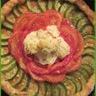 Tarte légère aux courgettes tomates poivron et choux fleur
