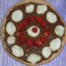 Tarte meringuée à la mousse au chocolat et aux fraises