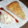 Tarte normande pommes amandes et crème