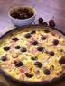 Ma recette de tarte rhubarbe cerises - Laurent Mariotte