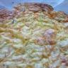 Tarte sans pâte au crabe et au poireau