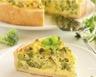 Tarte soufflée aux brocolis et moutarde douce