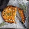 Tarte tatin aux carottes feta ricotta