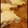 Tarte tatin de pomme au chaource