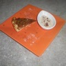 Tarte tatin pommes-carambar et sa crème legère de caramel