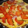 Tarte tatin tomate courgette et coppa
