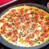 Tarte tomate cerise et mozzarella