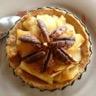 Tartelettes à la compotée pommes - coings pâte sucrée à l'amande