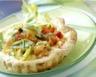 Tartelettes à la ricotta et aux petits légumes