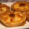 Tartelettes amandines aux pommes hérissonnées au salidou
