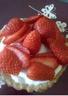 Tartelettes aux fraises et au chocolat blanc