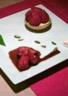 Tartelettes aux fraises et crème patissère au basilic