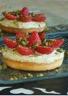 Tartelettes aux fraises et crème pistache