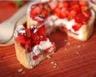 Tartelettes aux fraises mousse de yaourt et coeur de fraises