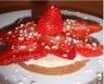 Tartelettes aux fraises spéculoos & chocolat blanc