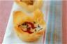 Tartelettes aux poivrons et fromage de chèvre