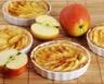 Tartelettes aux pommes citron vert et thym