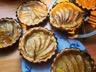 Tartelettes aux pommes sur compote de fruits