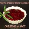 Tartelettes croustillantes chocolat blanc framboises