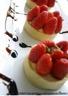 Tartelettes de fraises à la crème anglaise