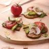 Tartelettes express aux légumes et au Cantal Vieux