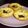 Tartelettes feuilletées aux figues et roquefort