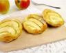 Tartelettes feuilletées chèvre et pommes